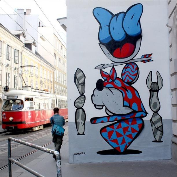 Frau Isa, Siebensterngasse 1070 Wien © Inoperable Gallery