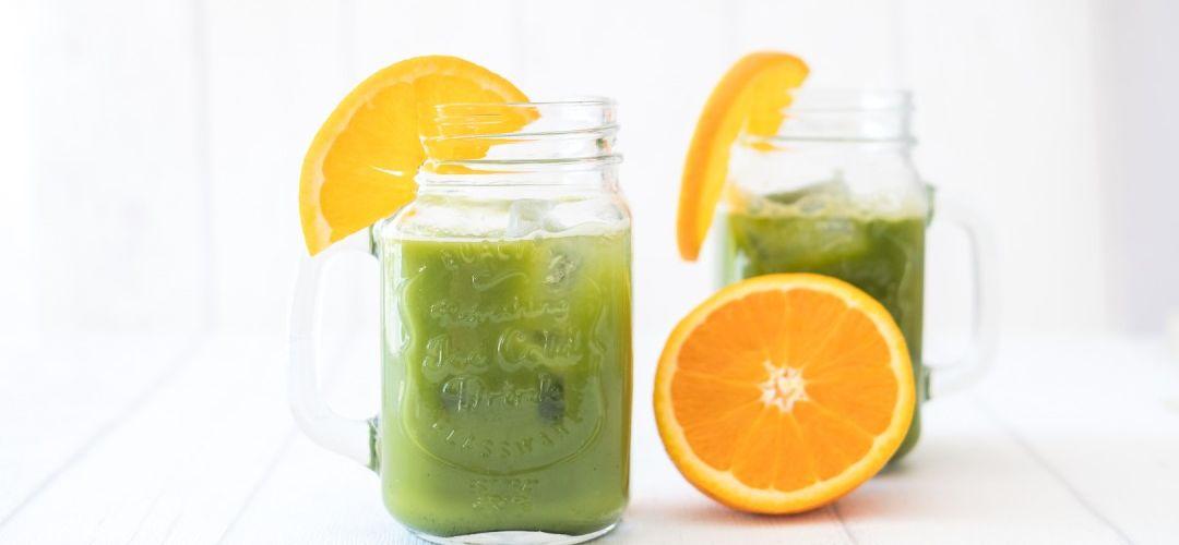 Matcha Orangensaft 4